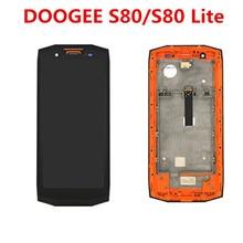 DOOGEE S80/S80 Lite ЖК-дисплей+ сенсорный экран дигитайзер с рамкой в сборе ЖК+ инструменты для телефона Doogee S80