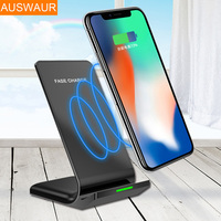 Qi Fast Wireless Charger Wireless Charger Pad For IPhone 8 For Samsung Galaxy S8 Plus S7