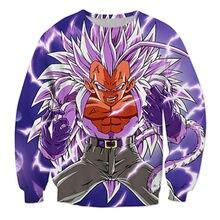 Dragon Ball Z Saiyan Goku Hoodie Sweatshirt