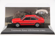 IXO Altaya 1:43 Scale Volkswagen Passat GTS Pointer 1984 Toys Car Diecast Models Limited Edition Collection Red(China)