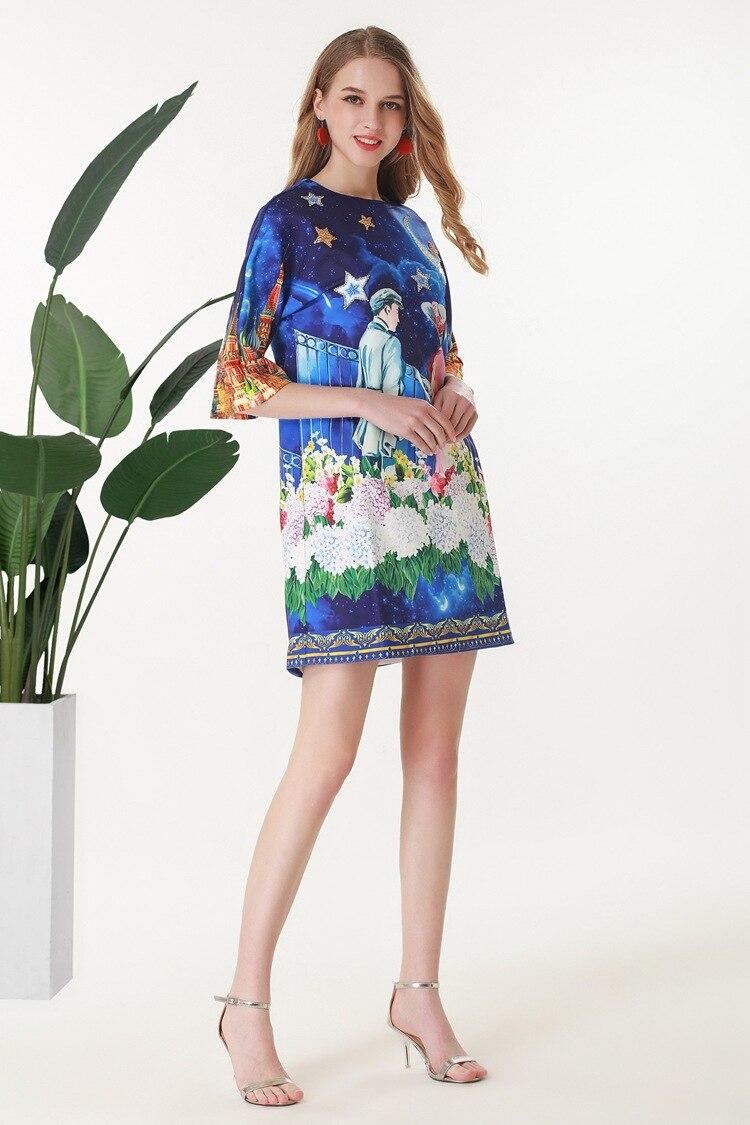 Donne Qualità Lusso 2019 Alta Vestito Europeo Nuove Partito Famosa Marca Di Del Primavera Design Ah03644 Stile Modo IUfznEqFx1