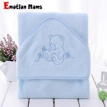 Hot atacado 100% fibra de bambu super macio e comortable 90x90cm 345gsm toalha baby baby toalha com capuz infantil toalha