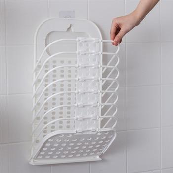 ORZ Ɗ�りたたみ洗濯バスケット浴室衣類収納バスケット壁掛け洗濯物用かご衣類おもちゃ自宅保管ボックス