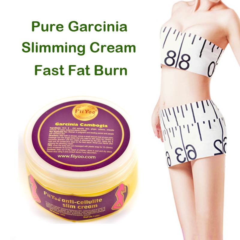 FiiYoo pure garcinia cambogia extracts anti cellulite creams Fat Burning Weight Loss effective Slimming Creams