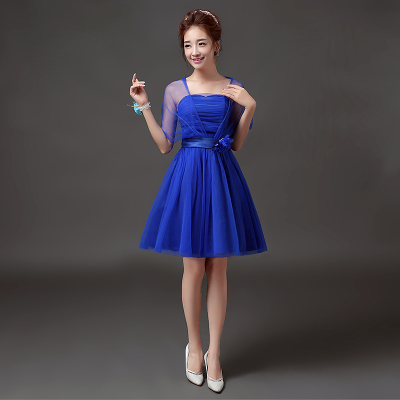 Sweet Memory Summer blue Bridesmaid dresses bride sisters party prom dresses  11 colors Promotional Price SW0050-28 3ca612e77577