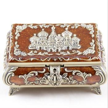 Vintage Jewellery Case Fashion Jewelry