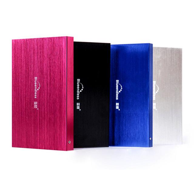 Frete grátis 2.5 '' Original Blueendless móvel usb disco rígido externo portátil HDD 120 G disco e jogo de venda
