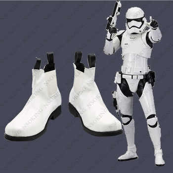 Star Wars 7 Cosplay Shoes Anime white soldier stormtrooper Boots - DISCOUNT ITEM  18% OFF All Category