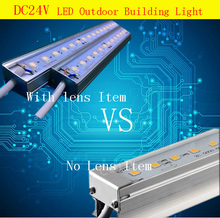 Manufacturers led outline lights RGB external control outdoor wall stickers line light DC24V led linear lights Aluminum AD Light
