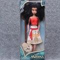 Venta caliente 1 unids/set Princesa Moana Serie Childern Modelos de Figuras de Acción de Juguete de La Muchacha del Regalo De Plástico Película de Dibujos Animados Juguetes Para niños