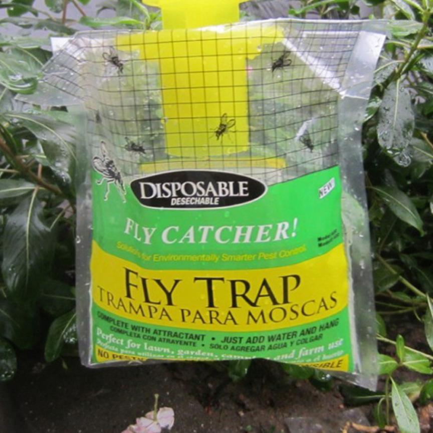Fly Trap Device With Trapping Pest Control Anti Fly Kill