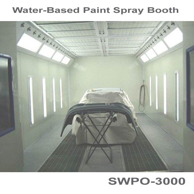 SWPO-3000 на водной основе покрасочная кабина для автомобиля покрасочная кабина на основе Аква