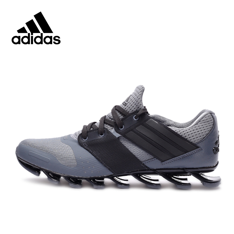 18449c8ed0 Original Adidas Official Springblade Men's Running Breathable Shoes Sneakers