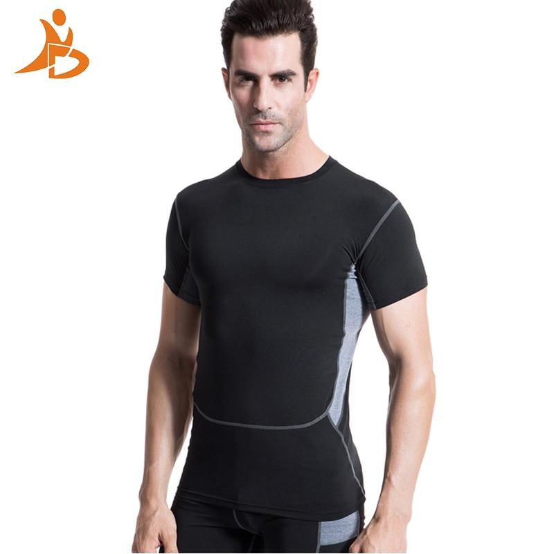 Yd Hot Logo Custom Man's T-shirt Sneldrogend Strakke Fitness top - Sportkleding en accessoires - Foto 1