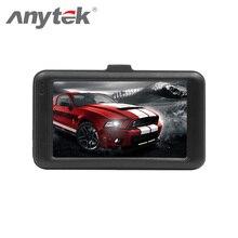 Anytek USB 2.0 Cámara Del Coche DVR Del Coche DVR 170 Grados Lente 1080 P HD para Tacógrafo Novatek 96220 WDR SENSOR de Aparcamiento Monitor de 32G