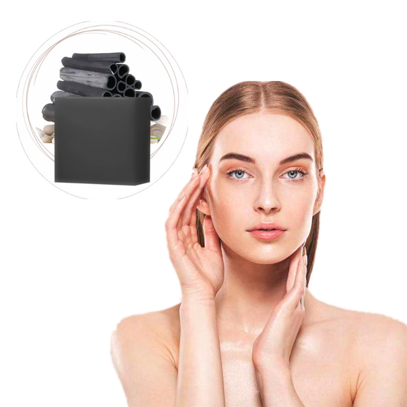 Scar Repair Face Lifting Firming Blackhead Remover Cleansing Purifying The Black Head Acne Treatments Bamboo Charcoal Soap 1Pcs