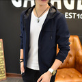 LensTid Mens Jackets And Coats New Spring Outerwear Solid Color Jacket Men Casual Fashion Windbreaker Jacket Coat #ZK88