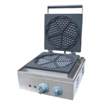 BEIJAMEI Restaurant Electric Heart Shape Waffle Maker Machine 110v 220v Commercial Mini Heart Waffles Machine