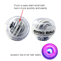 New Product fully automatic Powerball Gyro force ball Exercise Wrist Arm Forearm Strengthener Speed Ball fitness equipment