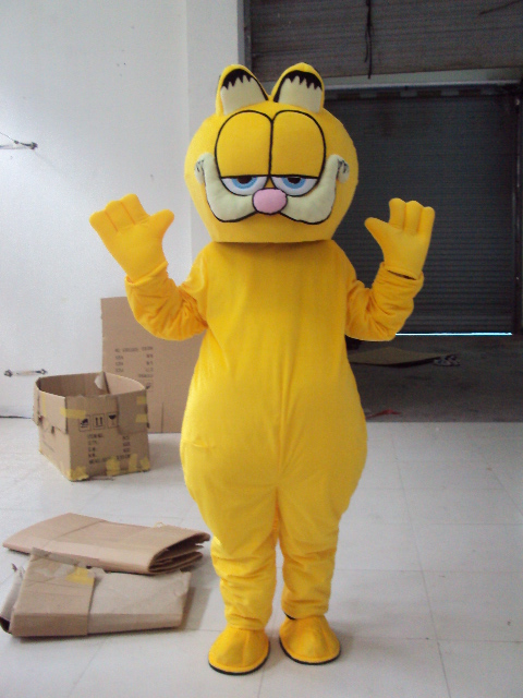 Wholesale plush Garfield mascot costume adult size Garfield mascot ...