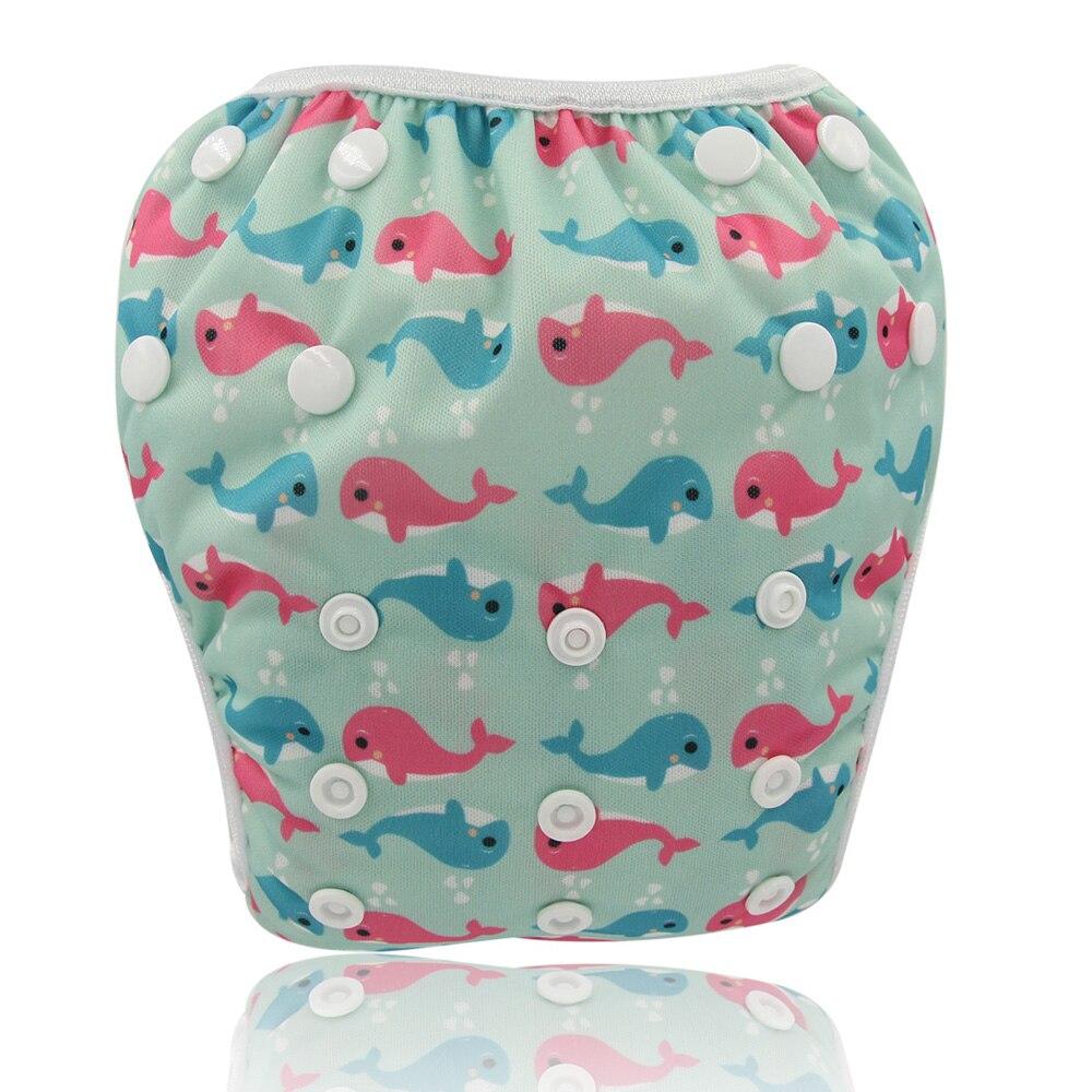 Ohbabyka Unisex Boys Girls Swimming Pant Toddler Kids Unicorn Swim Diaper Reusable One Size Adjustable Baby Pool Pant For Summer