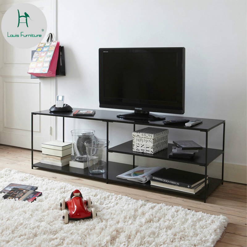 Louis Fashion Tv Stands A Simple Tea Table For Baking Iron Art A Simple Modern Nordic Small Living Room Tv Stands Aliexpress