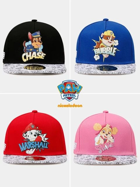5a1af167556 Genuine Paw Patrol 2018 new style design puppy patrol pattern leisure boy  girl Hip Hop cap