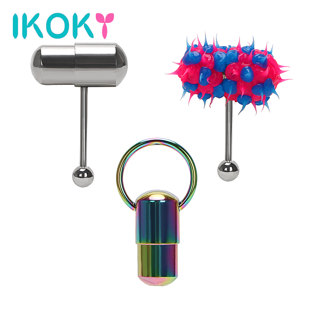 Aliexpress.com : Buy IKOKY Tongue Stud Vibrator Hammer