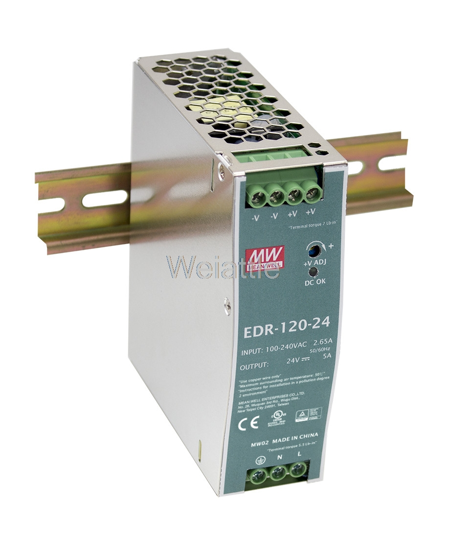 цена на [Special offer] MEAN WELL original EDR-120-12 12V 10A meanwell EDR-120 12V 120W Single Output Industrial DIN RAIL