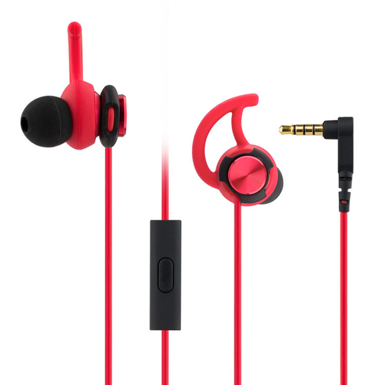Original GEVO GV2 in ear HiFi Heavy bass earphone Sport Headset with mic for smartphones
