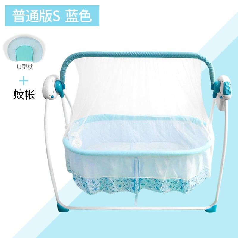 Berceau bébé berceau électrique lit secouer lit bébé artefact nouveau-né endormi confort berceau intelligent