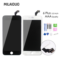 1PCS No Dead Pixel Display For IPhone 6 Plus LCD Digitizer Assembly Replacement 5 5 Screen