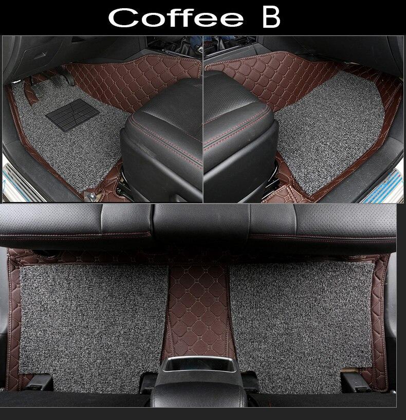 Car floor mats made for Toyota Land Cruiser 200 Prado 150 120 Highlander FJ Crusier case car-styling carpet liners (2007- Car floor mats made for Toyota Land Cruiser 200 Prado 150 120 Highlander FJ Crusier case car-styling carpet liners (2007-
