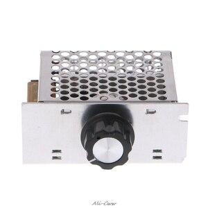 Профессиональные регуляторы напряжения 4000 Вт 220 В Высокая мощность SCR регулятор скорости Электронный регулятор напряжения регулятор Регул...