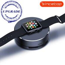 Для iWatch Портативное Зарядное Устройство, 1500 мАч Внешнее Зарядное Устройство Портативный Банк силы для Apple Часы Аксессуары зарядное устройство серебро
