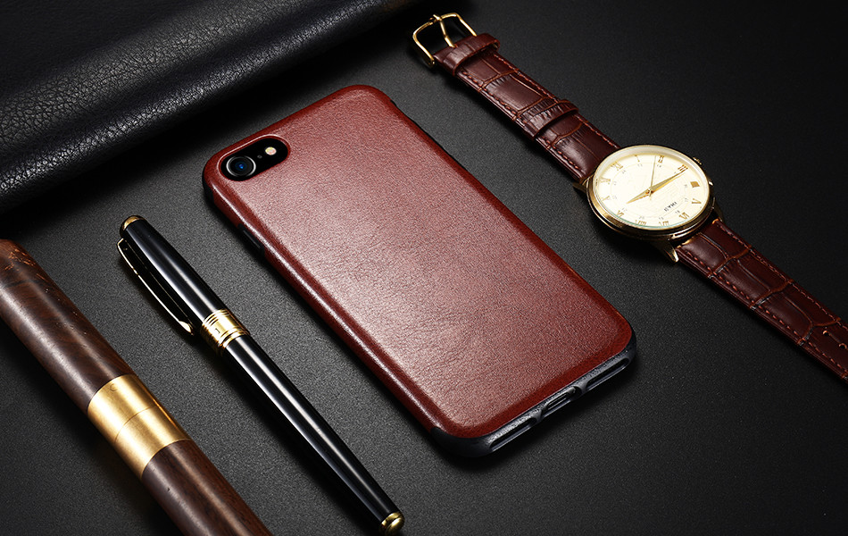 [Retro Crazy Horse Style] FLOVEME Leather Phone Case For iPhone 7 11 Pro Cover For iPhone 6s 6 Plus X XS Max XR Case Capa Coque