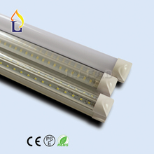 100 Pack T8 V-shape Led Integrated Tube lamp 20W-48W 2ft 3ft 4ft ft 6ft 8ft linkable integrated fluorescent tube replacement