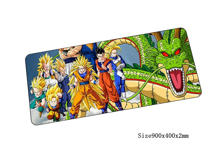 Dragon Ball mouse pad anime pad to mouse notbook computer mousepad locked edge gaming pa ...