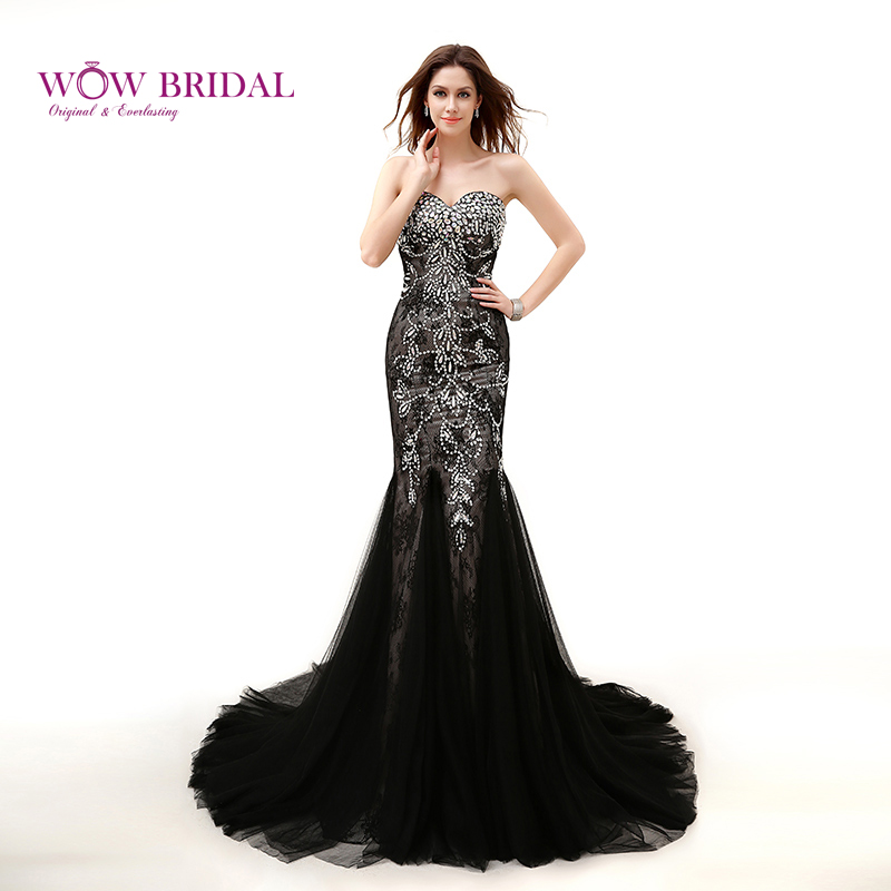 New Design Black Sweetheart Lace Up Crystal Embroidery
