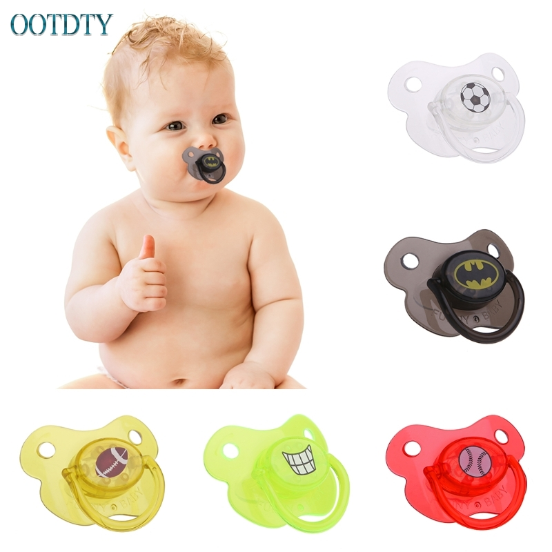 High Quality Baby Infant Dummy Pacifier Silicone Smoother Nipple Teether Joke Prank #330