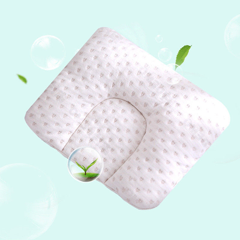 Infant Newborn Baby Shaping Pillow With Memory Foam To Prevent Flat Head And Anti Roll 2