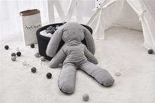 Cute Baby Rabbit Pillow Cushion Newborn Stuffed Plush Toys Kids Room Photography Props Modern Nursery Soft