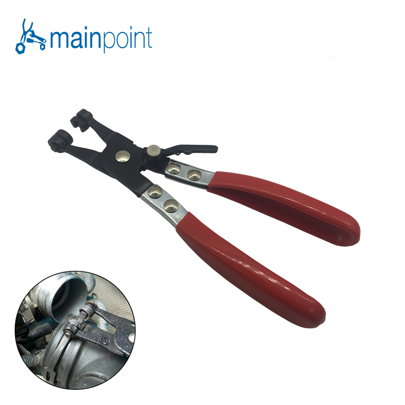 Mainpoint 8.5 Inch Hot Sale Hose Clamp Pliers For Fuel & Coolant Hose Pipe Clips for Auto Car Repair Water Pipe Removal Tool water pipe hose removal installer tool clip clamp plier for vw audi vag1921