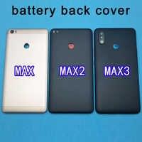 Xiao mi mi MAX 3 couvercle de batterie porte arrière boîtier de boîtier MAX3 mi châssis pour Max2 Xiao mi mi Max 2 couvercle de batterie remplacer