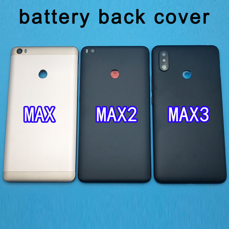 Xiaomi Mi MAX 3 Battery Cover Rear Door Back Housing Case MAX3 Middle Chassis For Max2 Xiaomi Mi Max 2 Battery Cover Replace