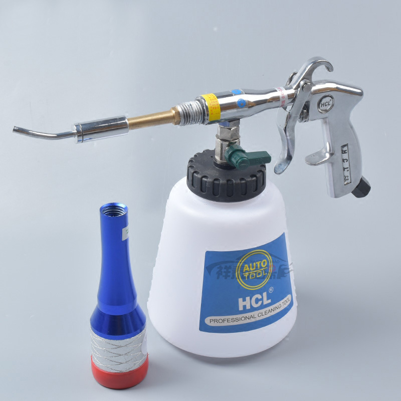 Tornado Copper Bearing Interior Cleaning Gun Roof Washer Pneumatic Engine High Pressure Car Wash Tool with Regulating valve high pressure air pulse car cleaning gun with brush multifunctional surface interior exterior cleaning kit eu type fast cleaning