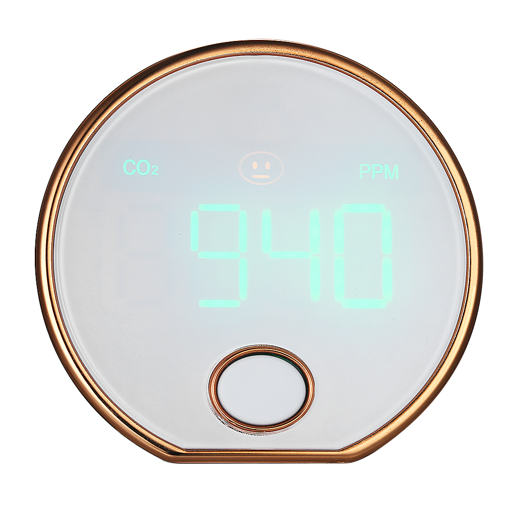Mini Portátil de Gás Dióxido De Carbono Medidor Detector HT-401 CO2 CO2 Testador apropriado para uso doméstico hotel indoor veículo Agrícola