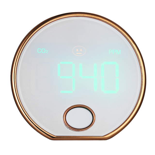 Mini Portable Carbon Dioxide Gas CO2 Meter Detector HT-401 Agricultural CO2 Tester suitable for household indoor hotel vehicle