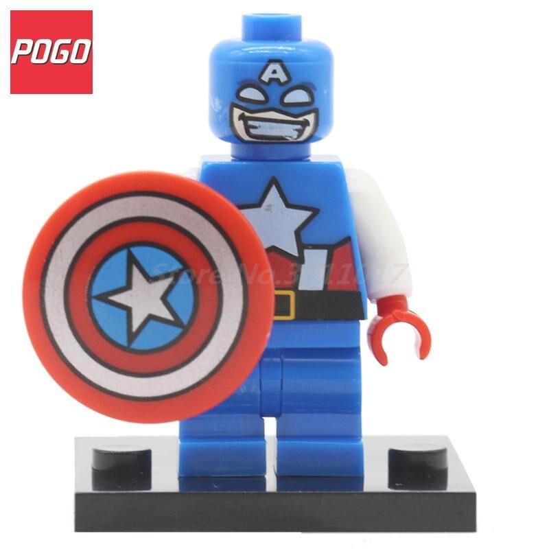 POGO Space War Block Lightning Lad Superhero DIY Model Building Blocks Sets Single Sale Classic Baby Brick Toys Compatible