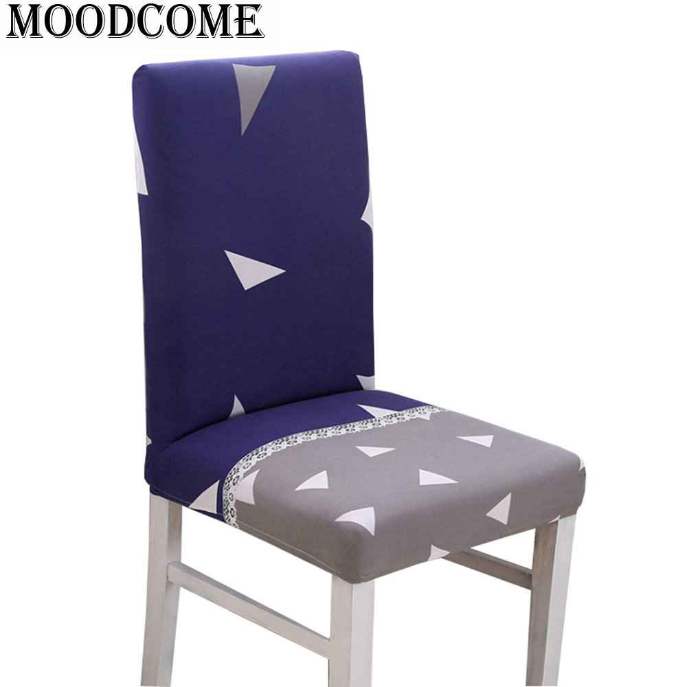 stretch chair covers dining 2018 drop shipping spandex elastic trangle angle dining room chair cover for kitchen